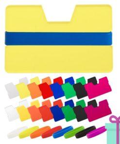 Full color kaarthouder creditcardformaat bedrukken