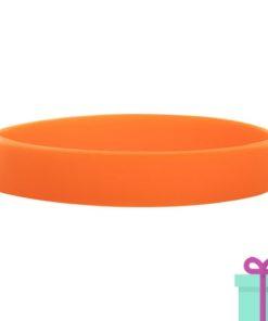 Full color kaarthouder creditcardformaat strap oranje bedrukken