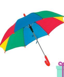 Kinderparaplu regenboog bedrukken