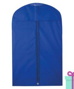 Kledinghoes blauw bedrukken