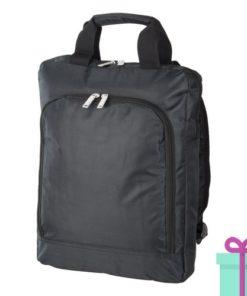 Laptop rugzak travel zwart bedrukken
