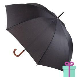 Luxe paraplu Andre Philippe zwart bedrukken