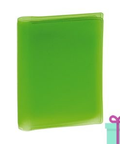 Multi pashouder groen bedrukken