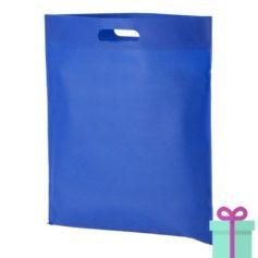 Non-woven tas goedkoop blauw bedrukken
