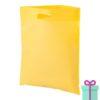 Non-woven tas goedkoop geel bedrukken