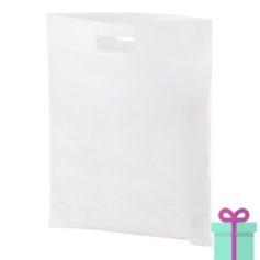 Non-woven tas goedkoop wit bedrukken