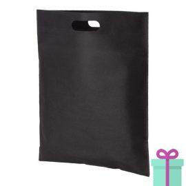 Non-woven tas goedkoop zwart bedrukken
