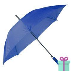 Paraplu automatische opening blauw bedrukken