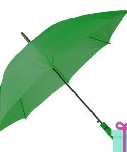 Paraplu automatische opening groen bedrukken
