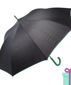 Paraplu gekleurde haak groen bedrukken