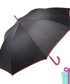 Paraplu gekleurde haak rood bedrukken