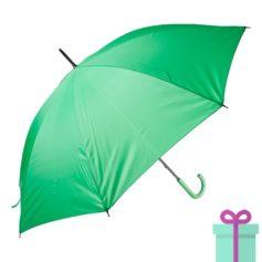 Paraplu goedkoop color groen bedrukken