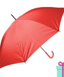 Paraplu goedkoop color rood bedrukken