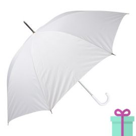 Paraplu goedkoop color wit bedrukken
