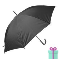 Paraplu goedkoop color zwart bedrukken