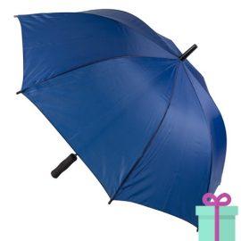 Paraplu goedkoop typhoon blauw bedrukken