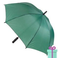 Paraplu goedkoop typhoon groen bedrukken