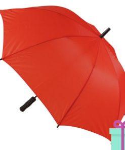 Paraplu goedkoop typhoon rood bedrukken