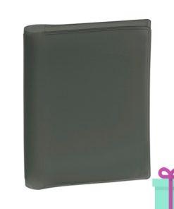 Pasfoto houder zwart bedrukken