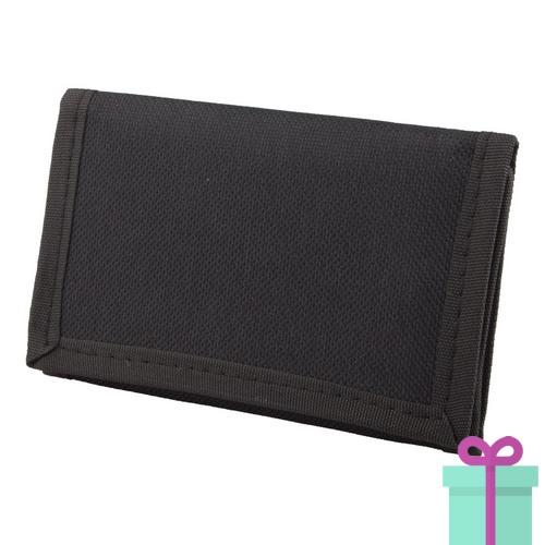 0061c6f2c13 Portemonnee budget zwart | Relatiegeschenken-drukken.nl