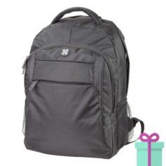Rugtas backpack Andre Phillipe zwart bedrukken