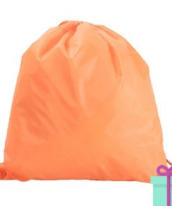 Rugzak trektouw color budget oranje bedrukken