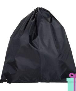Rugzak trektouw color budget zwart bedrukken