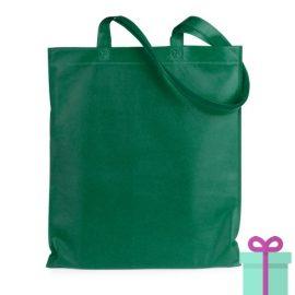 Shopper non-woven budget groen bedrukken
