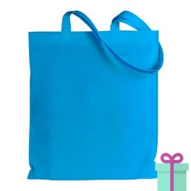 Shopper non-woven budget navy bedrukken