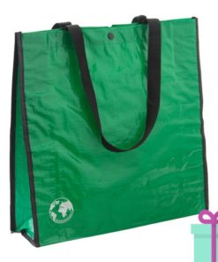 Shopper recycled groen bedrukken