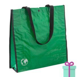 Shopper recycled groen bedrukken