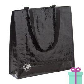 Shopper recycled zwart bedrukken