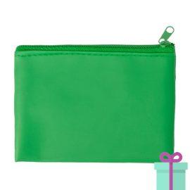Sleutel etui groen bedrukken