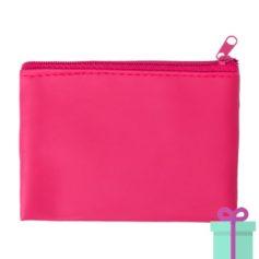Sleutel etui roze bedrukken