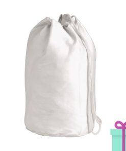 Strandtas rond goedkoop katoen wit bedrukken