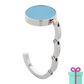 Tashanger giftbox lichtblauw bedrukken