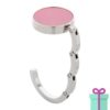 Tashanger giftbox roze bedrukken