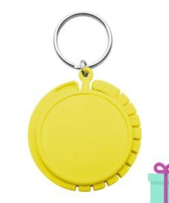 Tashanger goedkoop geel bedrukken