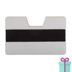 kaarthouder creditcardformaat zwart bedrukken