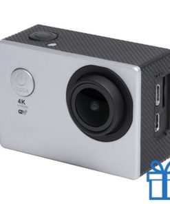 Action camera 2 inch 4K grijs bedrukken