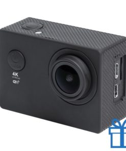 Action camera 2 inch 4K zwart bedrukken