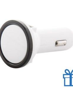 Auto USB lader 2 poorten bedrukken