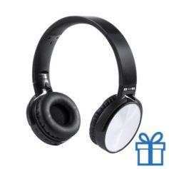 Bluetooth hoofdtelefoon accu belfunctie zilver bedrukken