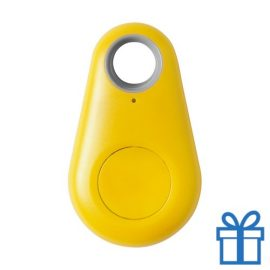 Bluetooth key finder geel bedrukken
