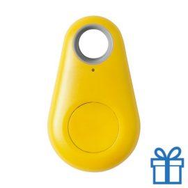 Bluetooth key finder geel bedrukken