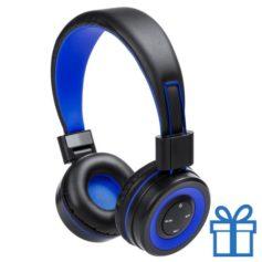 Bluetooth koptelefoon handsfree functie blauw bedrukken