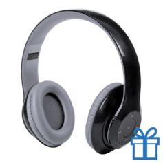 Bluetooth koptelefoon opvouwbaar mp3 zwart bedrukken