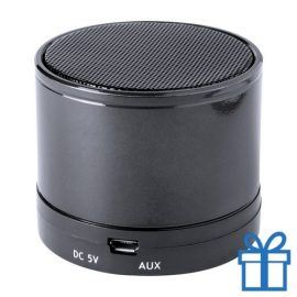 Bluetooth luidspreker accu aluminium zwart bedrukken
