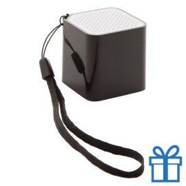 Bluetooth luidspreker camera bediening zwart bedrukken