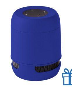 Bluetooth luidspreker handsfree belfunctie blauw bedrukken